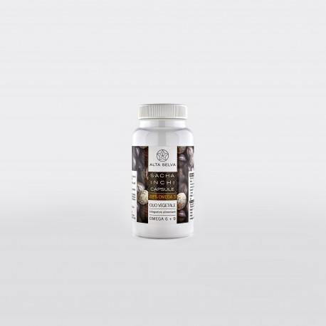 1 package SACHA INCHI capsules (60 capsules)