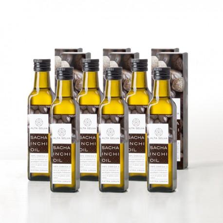 Packung mit 6 Flaschen Sacha Inchi Öl 1500 ml