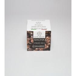 Sacha Inchi milk-chokolate dragèes